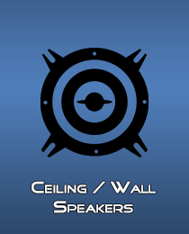 Ceiling Wall Speakers