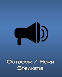 Outdoor Horn Speakers