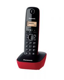 Panasonic KX TG1611 front Red